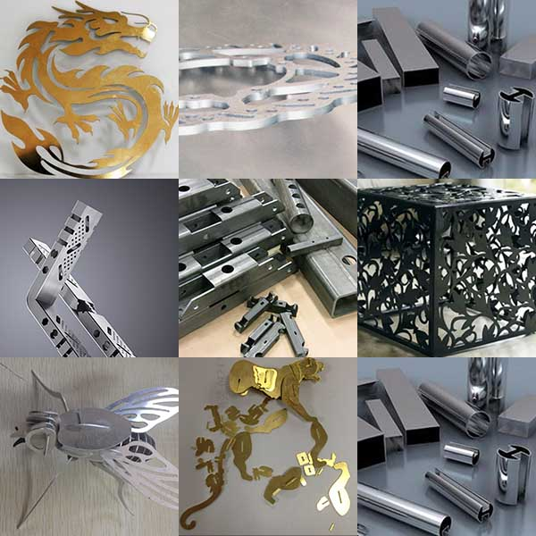 metal cutting samples
