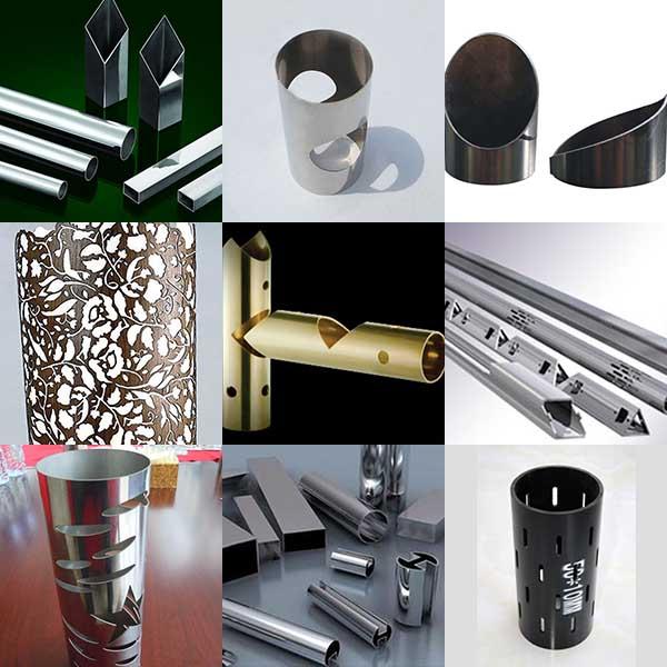 tube cutting metal