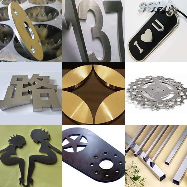 metal cut samples